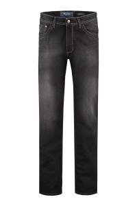 Pionier Jeans Marc  -  Black Used