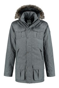 Brigg Functional Parka - Grey