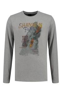 Kitaro T-Shirt - Shannon Falls grijs