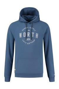 North 56˚4 - Capuchontrui blauw