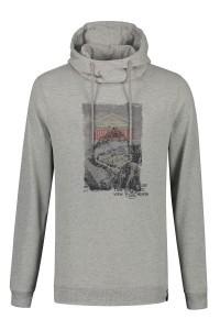 Kitaro Sweater - Adventure grijs