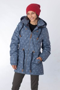 Brigg Winter Coat - Paula Smoky Blue