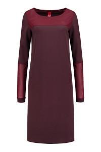 Only M - Dress Dora Burgundy