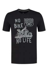 Kitaro T-Shirt - Bike Black