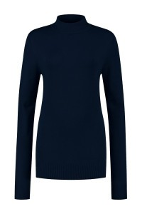 Casa Mia - Basic Sweater Dark Blue