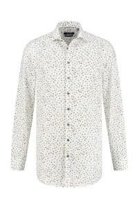 Ledûb Modern Fit Overhemd - Warm Dots