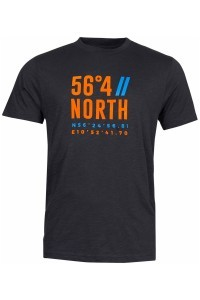 North 56⁰4 T-shirt - Coordinates Black