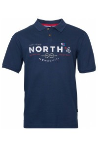 North 56˚4 Polo Shirt - Knot Navy