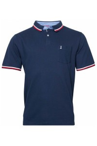North 56˚4 Polo Shirt - Lighthouse Navy