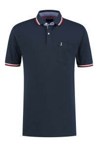 North 56˚4 Polo - Lighthouse Navy