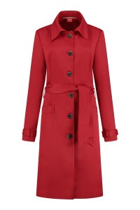 Only M Trenchcoat - Dolce Rood