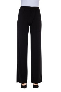 Only M Trousers - Snooze Wide Nero