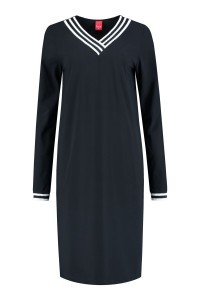 Only M Dress - Sporty Chic Navy