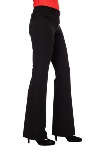 Only M Trousers - Sienna Wide Black
