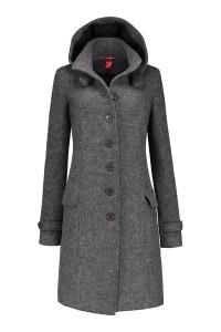 Only M - Wool Wintercoat Light Grey