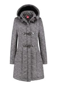 Only M - Wintercoat Light Grey Melange