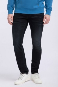 Mustang Jeans Oregon Tapered - Blue Black Used
