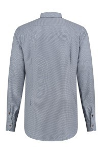 Blue Crane tailored fit shirt - Navy/white
