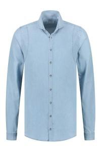 Blue Crane slim fit shirt - Sky Blue