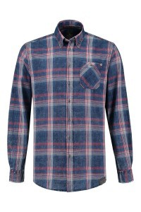 Kitaro Shirt - Blue Check