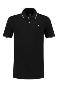 Kitaro Poloshirt - Black