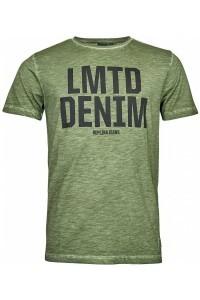 Replika Jeans T-shirt - Melange Green