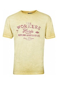Replika Jeans T-Shirt - Workers