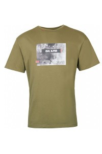 Replika Jeans T-Shirt - Print Olive