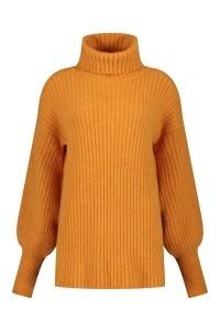 Only M Turtleneck - Oversized orange
