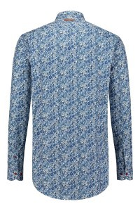 A Fish named Fred Shirt - Navy Flower