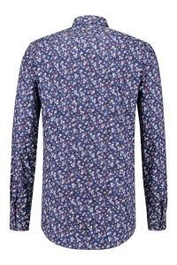 R2 Shirt - Navy Floral Print