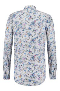 R2 Shirt - Grey Floral Print