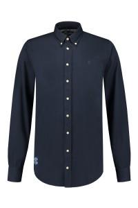 Replika Jeans Shirt Navy Blue