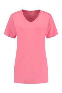SOHO V-Neck Shirt - Future Candy Pink