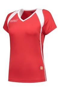 Panzeri Milano Cap Sleeves Shirt - red