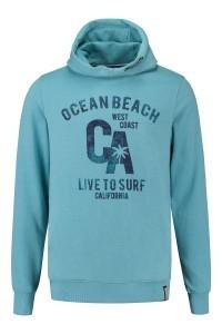 Kitaro Capuchontrui - Ocean Beach blauw
