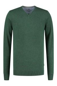 Kitaro Sweater - Basic V-Neck Green