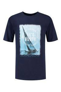 North 56⁰4 T-shirt - Nordic Supply navy