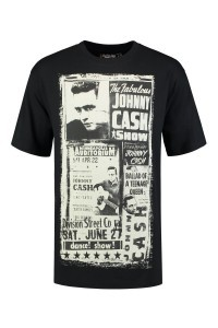 Replika Jeans T-Shirt - Johnny Cash