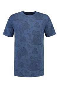 Kitaro T-shirt  - blue print