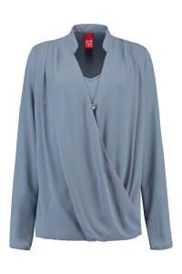 Only M - Draping Blouse Icy Blue