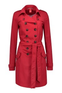 Only M Trenchcoat - Rood