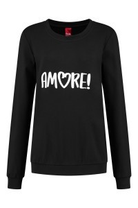 Only M - Sweater Amore zwart