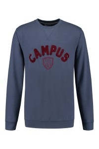 Replika Jeans Sweater - Campus Blue