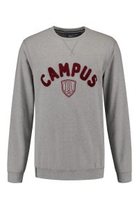 Replika Jeans Sweater - Campus Grey