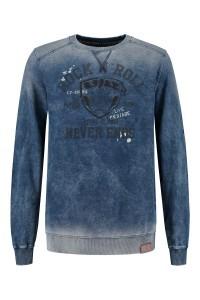 Kitaro Sweater - denim medium blue