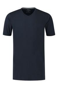 Kitaro T-Shirt - Basic V-hals navy