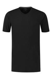 Kitaro T-Shirt - Basic V-hals zwart