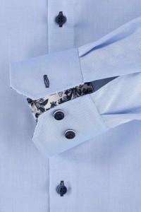 Venti Modern Fit Shirt - Blue