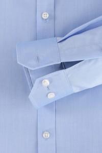 Venti Body Fit Shirt - Light Blue